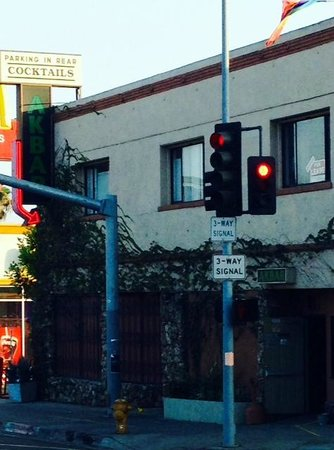 Glitterati Tours: Neighborhood bar, Akbar in Silverlake, Los Angeles.