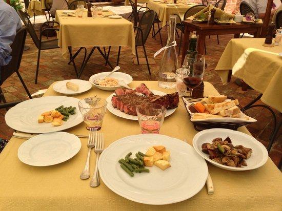 Walter Redaelli: Bistecca fiorentina e contorni
