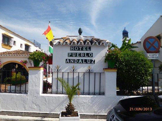 Globales Pueblo Andaluz : L'accés à l'hôtel