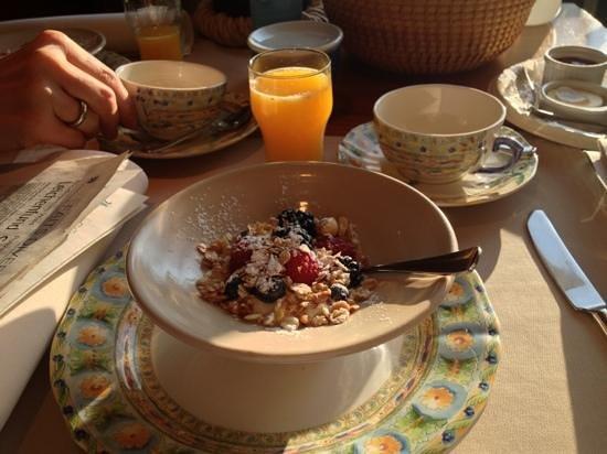 Manoir Kasselslay : Frühstück