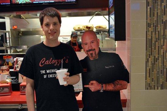 Tony Luke's Old Philly Style Sandwiches : Tony Luke wishing he was Calozzi's