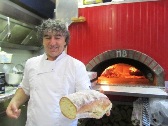 "IL Pacioccone: He loves his ""job"""