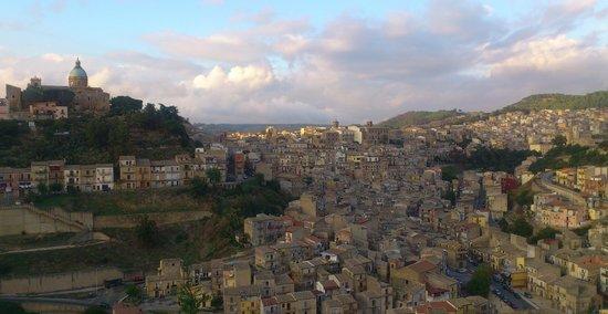 La Casa Sulla Collina D'oro: View from terrace by day