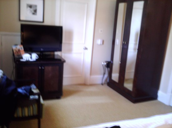 Bristol Marriott Royal Hotel: thought it would be better