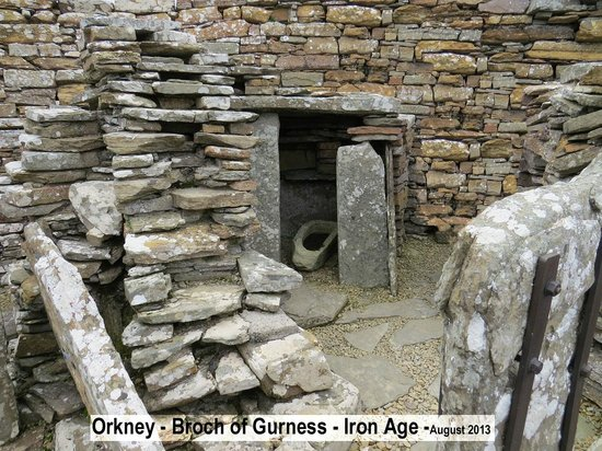 Broch of Gurness: Still solid after 2000 years.