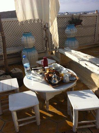 Riad Lunetoile: Terasse