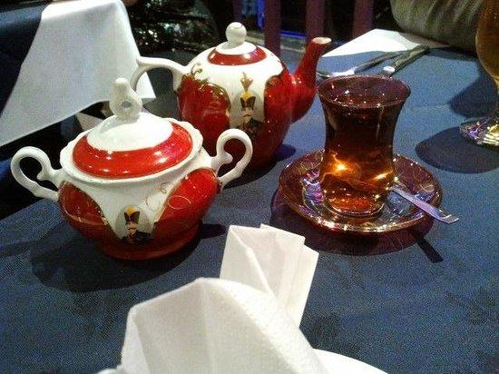 Reza Restaurant: Tea