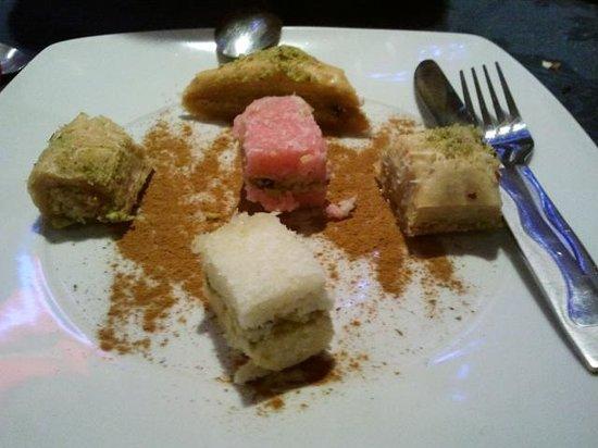 Reza Restaurant: Dessert of the day