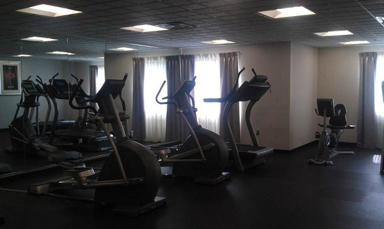 Holiday Inn Express & Suites Columbus-Polaris Parkway : Exercise room.  Nice space.