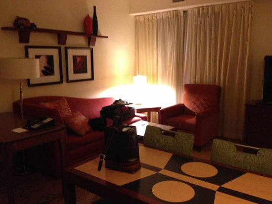 Residence Inn Newark Elizabeth/Liberty International Airport: Great decor