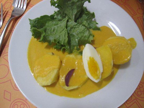 Tayta Inti: potato salad