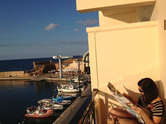 Porto Veneziano Hotel: Our balcony