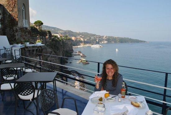 Hotel Parco dei Principi: Terrace - Breakfast