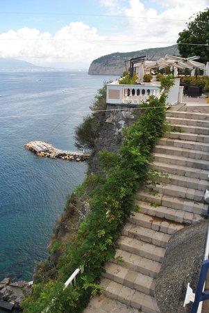 Hotel Parco dei Principi: Terrace view