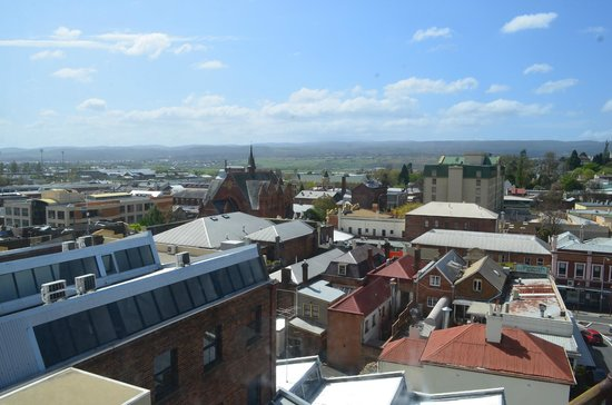 Quest Launceston: View from the room