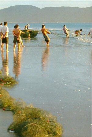 Vinpearl Da Nang Resort & Villas : After dawn hauling in the nets