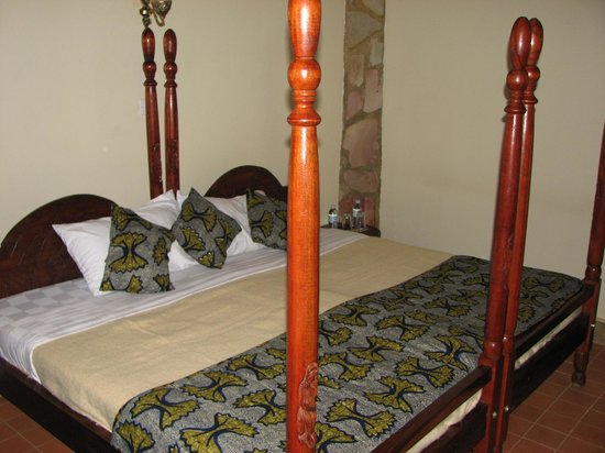 Silverback Lodge: comfy bed
