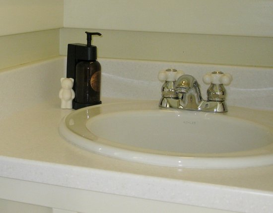 Mammoth Hot Springs Hotel & Cabins: Love the bear soap