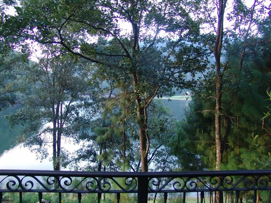 Sierra Lago Resort & Spa: View of the lake from the cabin.