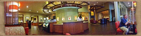Hyatt Place North Charleston: Check-in and Louge