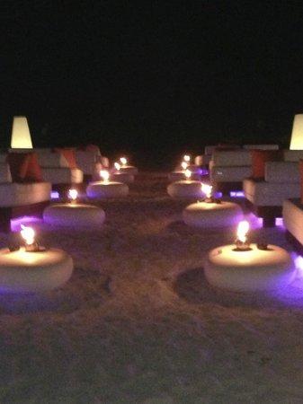 Paradisus Punta Cana Resort: Beach at night