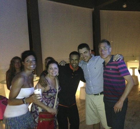 Paradisus Punta Cana Resort: Bartender José Peña