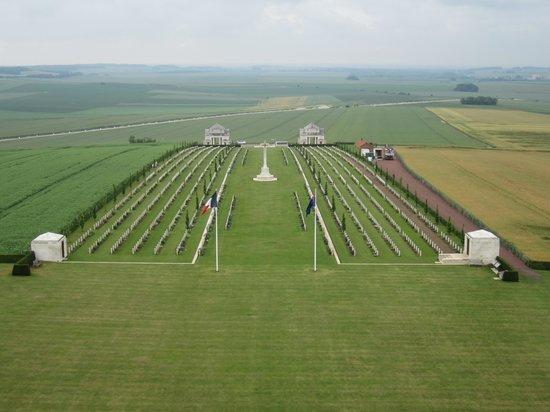 Terres de Memoire Somme Battlefield Tours: View from the Australian Memorial