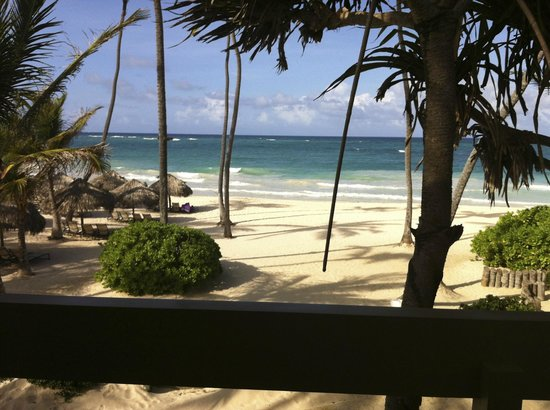 Paradisus Punta Cana Resort: View from room - Royal Service Oceanfront Room