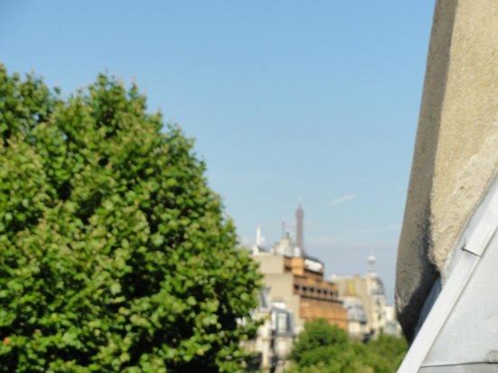 Hotel Abbatial Saint Germain: Eiffel Tower