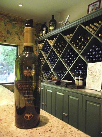 Rombauer Vineyards : Rombauer wine tasting room