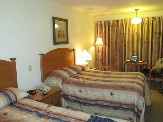 Du Chevalier Motel & Suites : i due comodi letti queen size