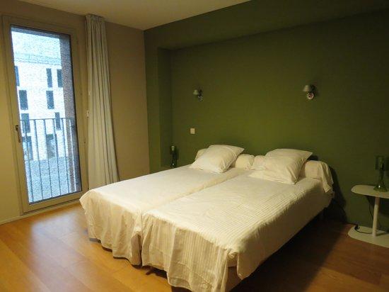 Temporésidences Cathédrale : chambre 2 lits jumeaux