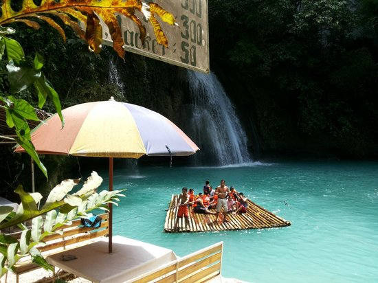 Tak Tak Falls: rafting charged per raft