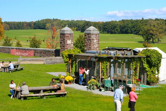 Rooms: View Of Farm Barn At Shelburne Farms Surrounded By Fall