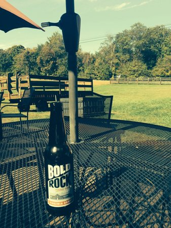 Bold Rock Hard Cider: This is from our second trip... Nothing like a little hard cider to welcome your afternoon