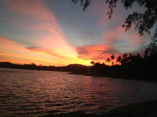 Rocky's Boutique Resort: Rockys sensational sunset