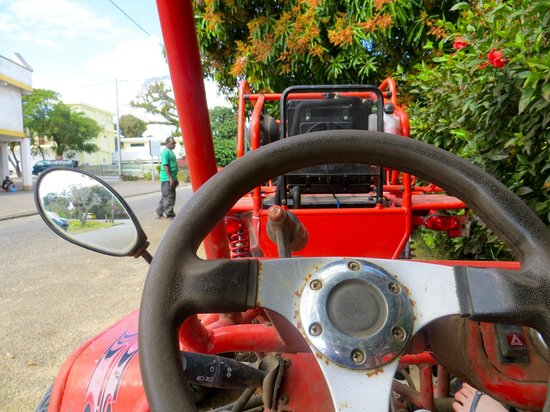 Buggy Fun Rentals: View from the cockpit