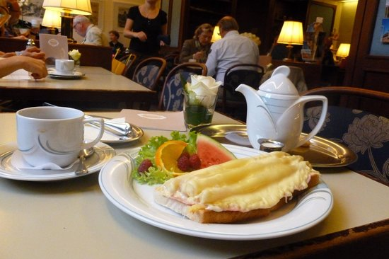 Cafe am Dom : Perfect light lunch