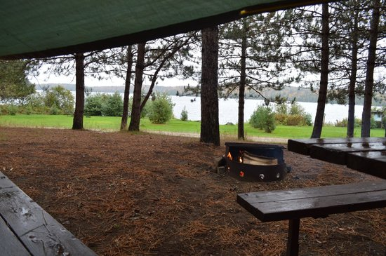 Kiosk Campground: Rain