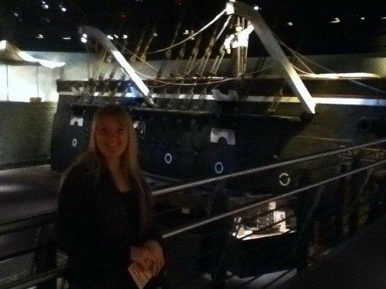 National Civil War Naval Museum : U.S.S Hartford reconstruction