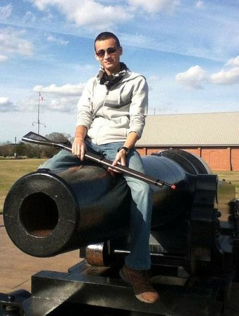 National Civil War Naval Museum: 11 Inch fireable smooth bore cannon