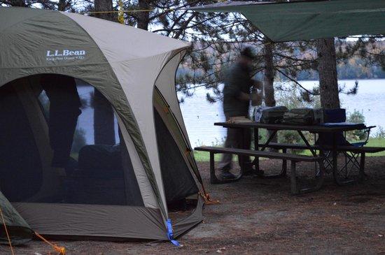 Kiosk Campground: Camp
