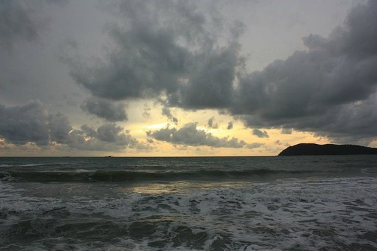 Sunset at Tengah Beach
