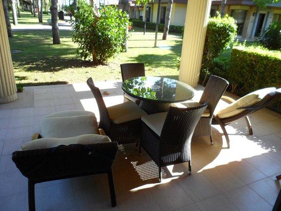 Gloria Golf Resort: Patio