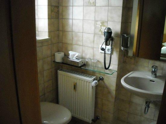 Hotel Haussler: Bathroom