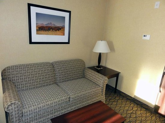 Holiday Inn Express and Suites Browning: Couch
