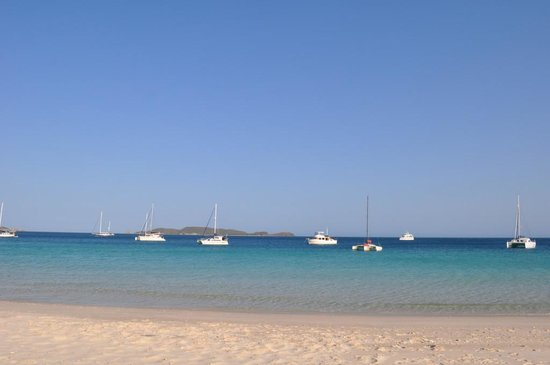 Great Keppel Island Holiday Village: White sands and crystal waters GKI