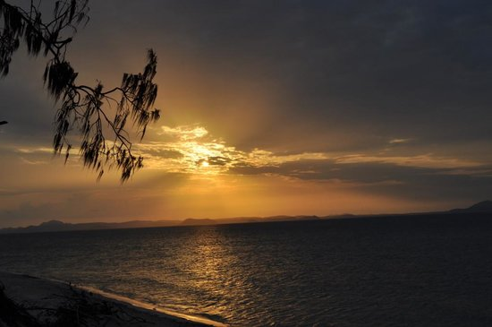 Great Keppel Island Holiday Village: Sunset towards Australian mainland