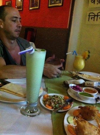 Ganesh Indian Restaurant : dinner