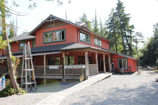The Ecolodge at the Tofino Botanical Gardens : Ecolodge